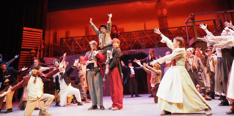 Read more about the article REVIEW: Company Theatre's enhanced, lively production of Lionel Bart's 'Oliver! 'kicks this classic up a notch