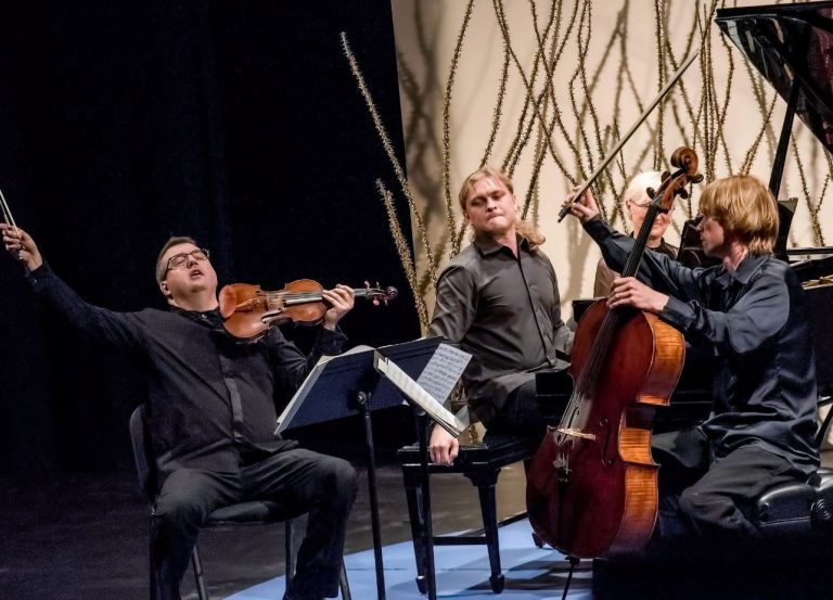 Chamber-music festival starts with trio's debut