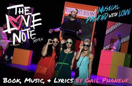 The Love Note Musical Off Broadway