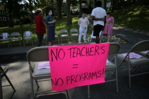In unprecedented times, teachers brace for layoffs