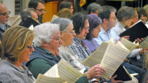 Read more about the article Choral Art Society Welcomes New Singers for Fall Season