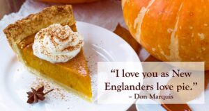 Read more about the article Calling All Bakers for the Great New England Pumpkin Pie Contest