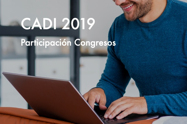 Participación Congresos – CADI 2019