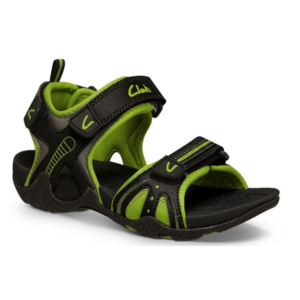 CLARKS NAIL BLACK:LIME