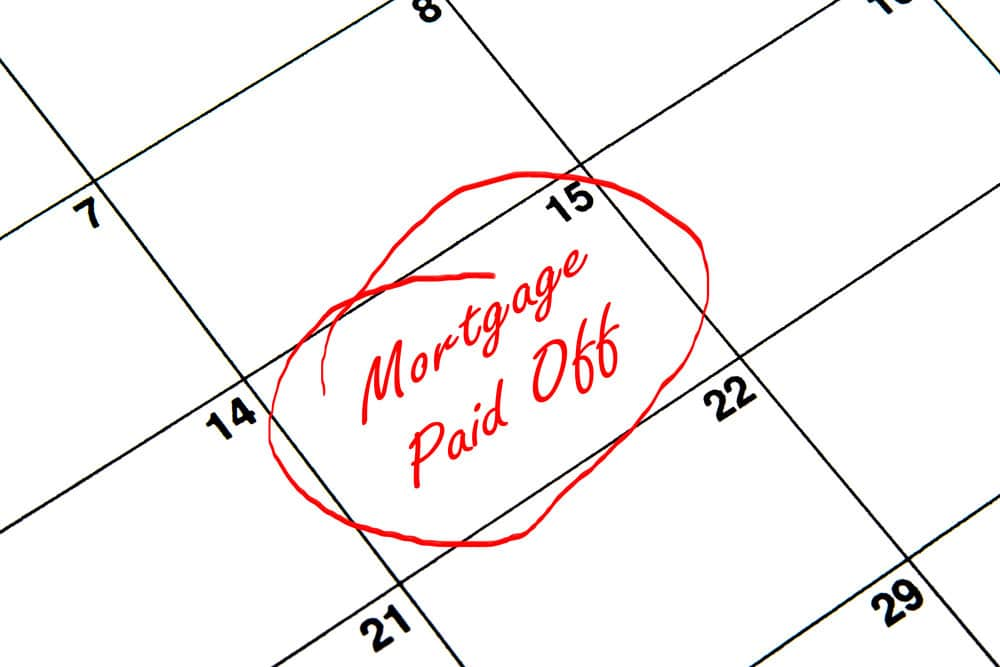 pay off mortgage