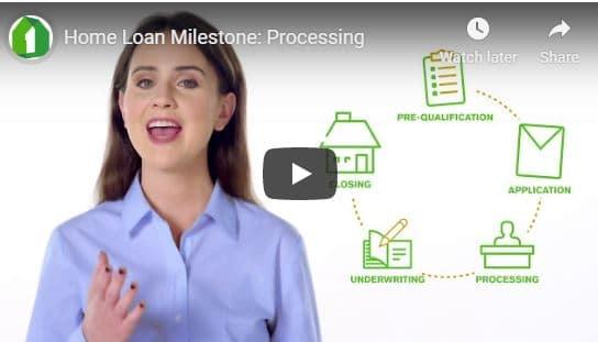 Home Loan Milestone – Processing