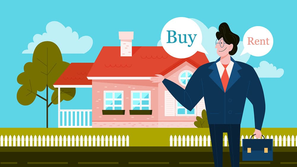 Buying a Home vs. Renting. What are the advantages?