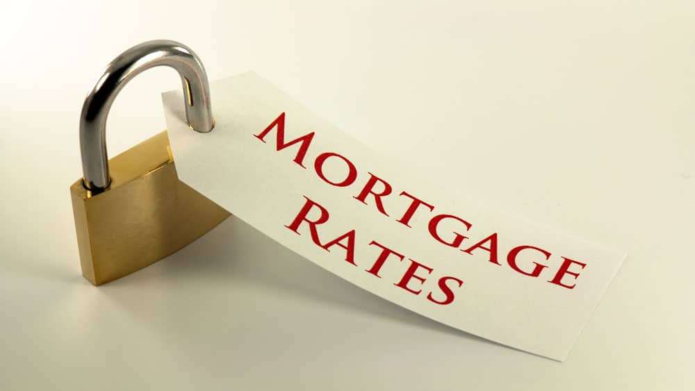 What does it mean to lock in mortgage loan, and what happens if rates go down after I lock it in?