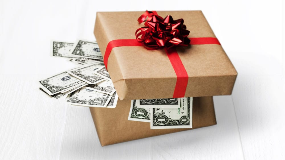 mortgage downpayment gift