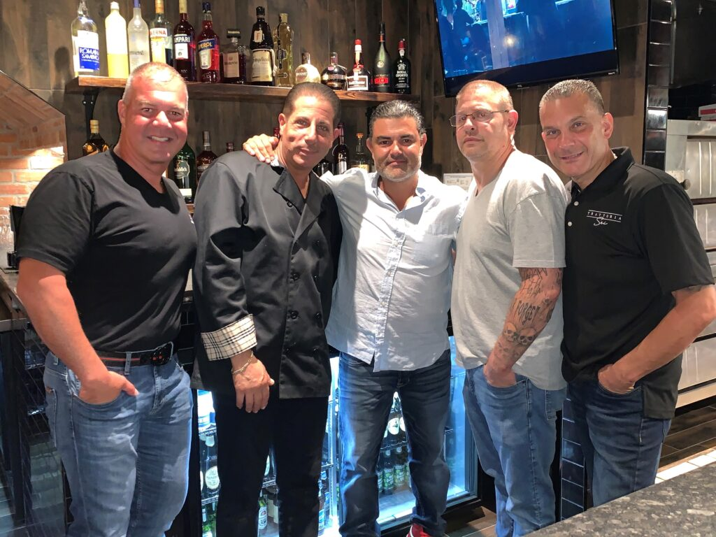 (Owner) Co-Founders of Trattoria Sei | Nicky Crecco, Carmine Paglia, Johnny Crecco, James Bianchini, Vincenzo Carovillano