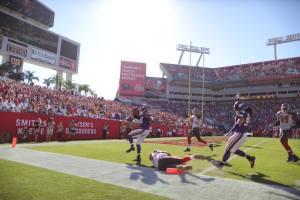Barr retorna o fumble e vence o jogo para os Vikings