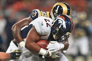Ataque terrestre dos Broncos foi inexistente