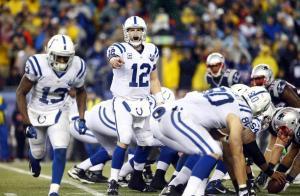 Luck é o ponto de equilíbrio dos Colts