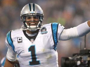 Newton lançou 198 jardas e dois TDs