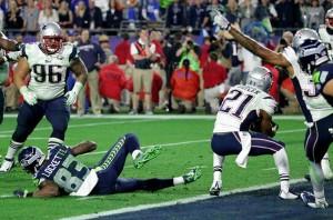 A interceptação da vitória dos Patriots