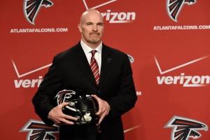 Dan Quinn estreia no comando dos Falcons