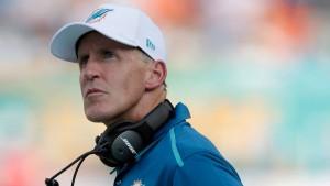 Joe Philbin não é mais técnico dos Dolphins
