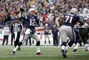 Brady chegou a marca de 55 mil jardas