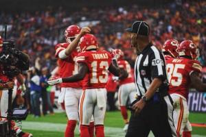Vitória fácil dos Chiefs em Londres