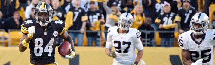 Antonio Brown liderou os Steelers em importante vitória
