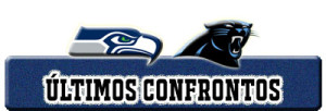 ULTIMOS CONFRONTOS seahawks panthers