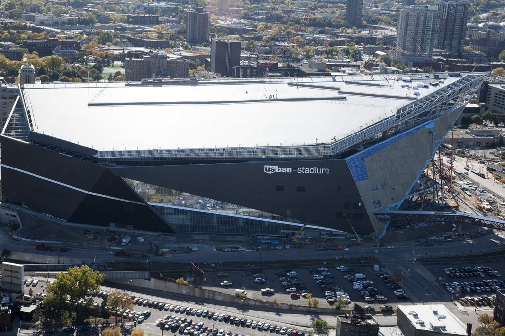Nova arena do Minnesota Vikings