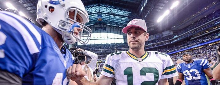 Luck vs Rodgers II será na semana 9