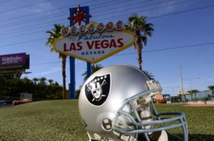 "Welcome to Fabulous Las Vegas ""Raiders""?"