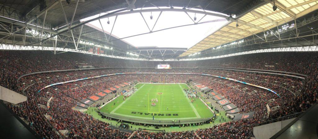 Wembley Stadium mais uma vez lotado