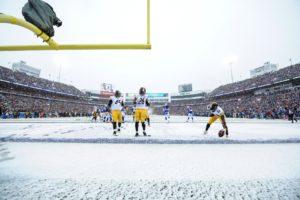 Neve caiu pra valer em Buffalo