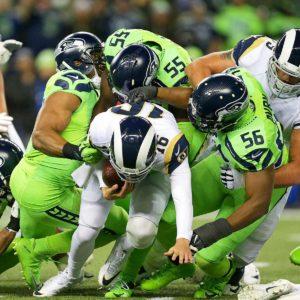 Defesa de Seattle regulou o jogo