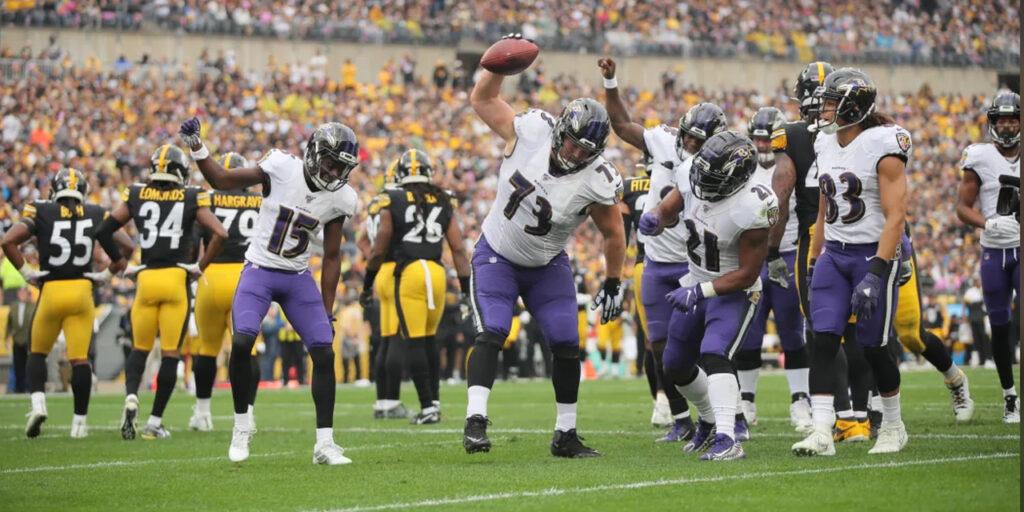 Ravens batem os Steelers em duelo emocionante e decidido na prorrogação