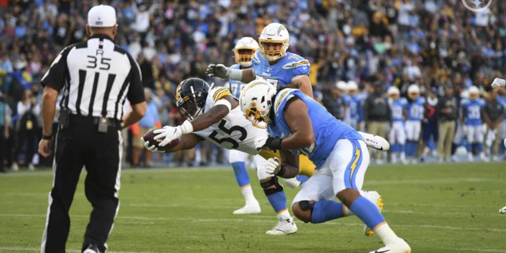Com primeiro tempo dominante, Steelers vencem os Chargers em Los Angeles
