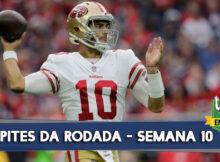 Palpites e prognósticos para a semana 10 da NFL