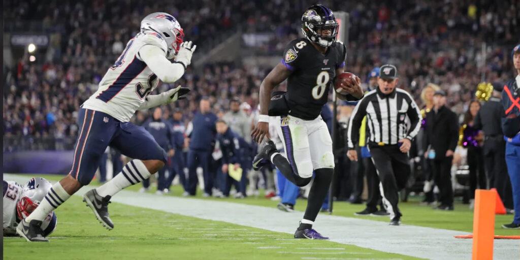 Cai mais um invicto na NFL! Ravens vencem os Patriots em Baltimore