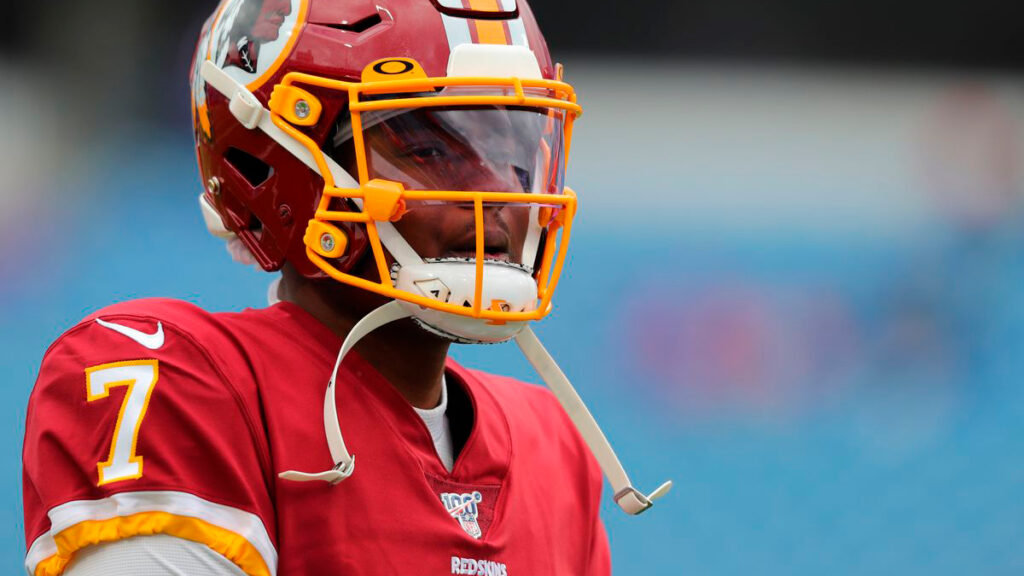 Dwayne Haskins é o quarterback titular da franquia de Washington