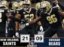 saints-bears-wild card 2021
