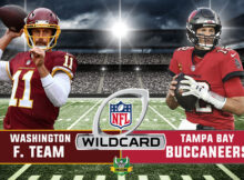 prévia playoffs washington buccaneers 2021