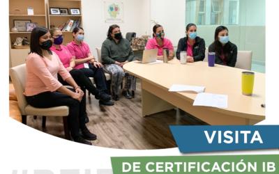 Visita de certificación IB
