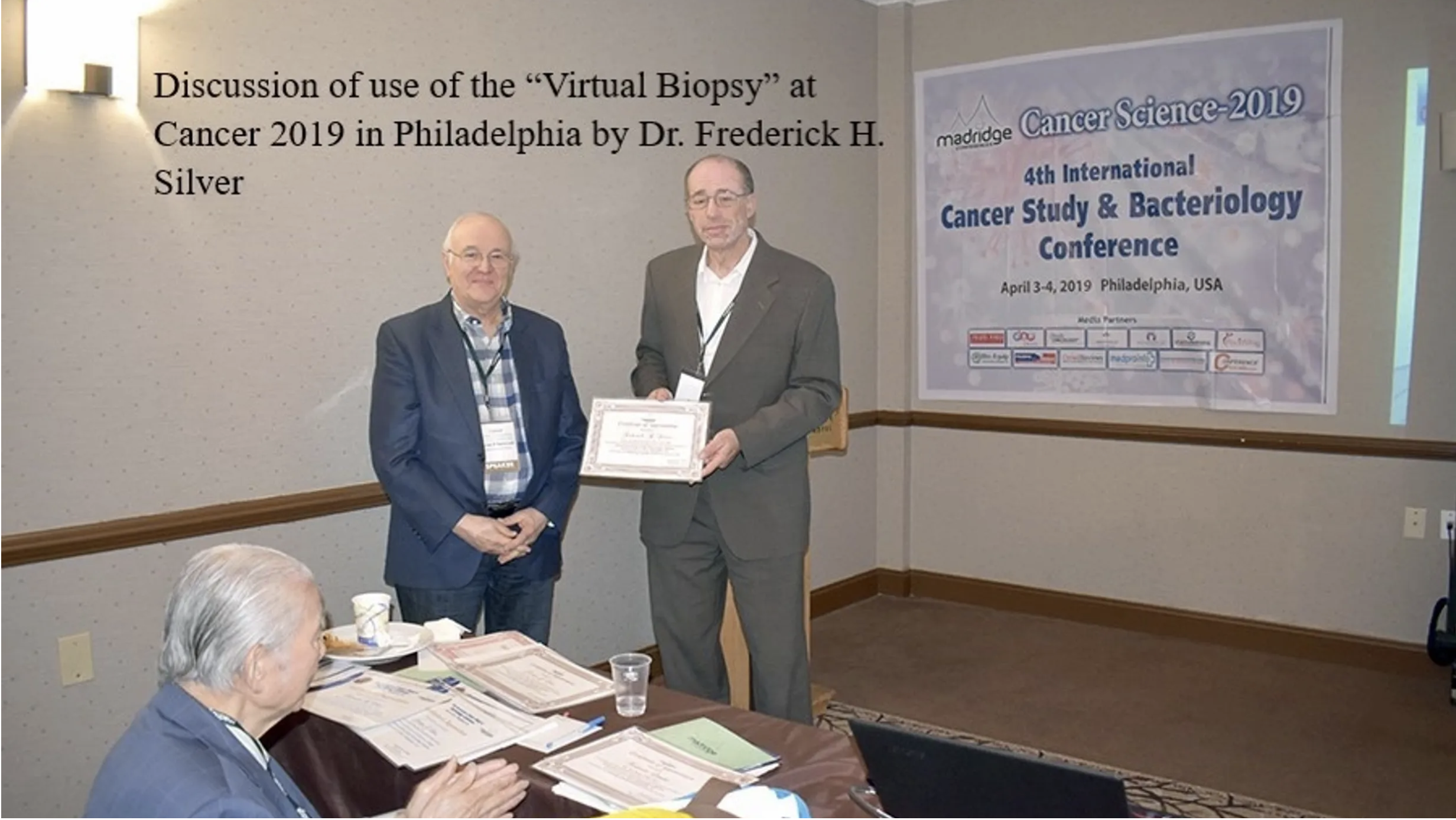 """DISCUSSION OF THE USE OF """"VIRTUAL BIOPSY"""" AT CANCER 2019!"""