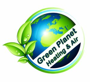 Green Planet HVAC Logo