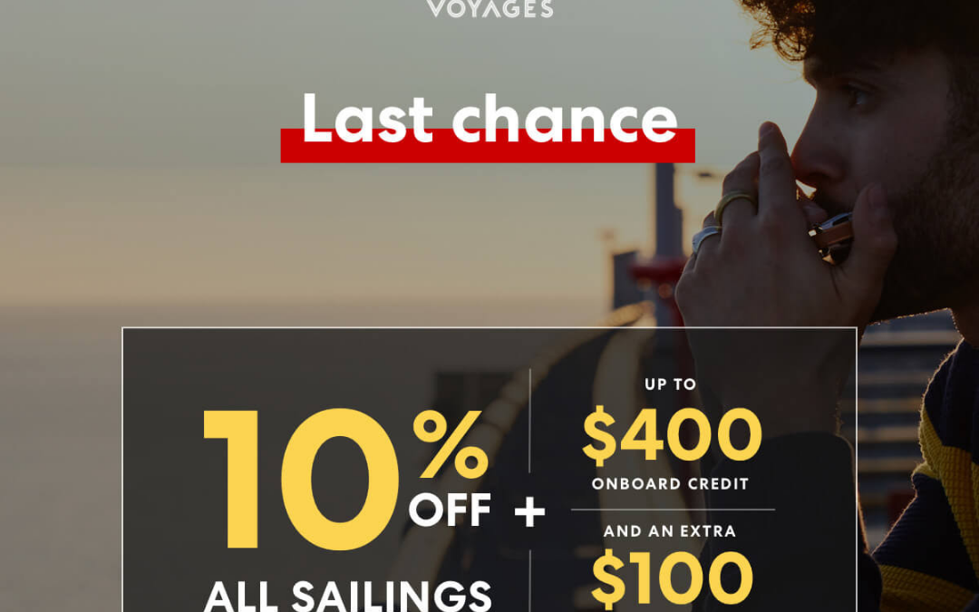 Save up to 20% on our Aug 2022 Med BEAR VOYAGE