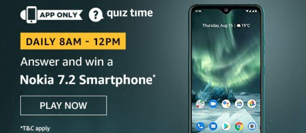 amazon-quiz-answers-13-may-2020-win-nokia-7.2-smartphone