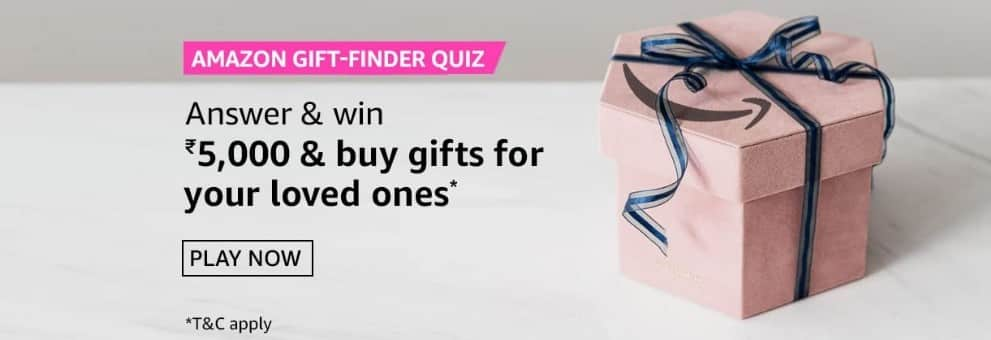 Amazon Quiz Answers 19 March 2021- Win Rs. 5000