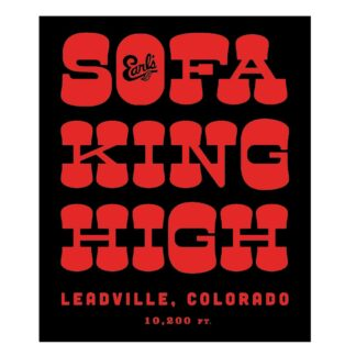 Earl's Sofa King High Sticker