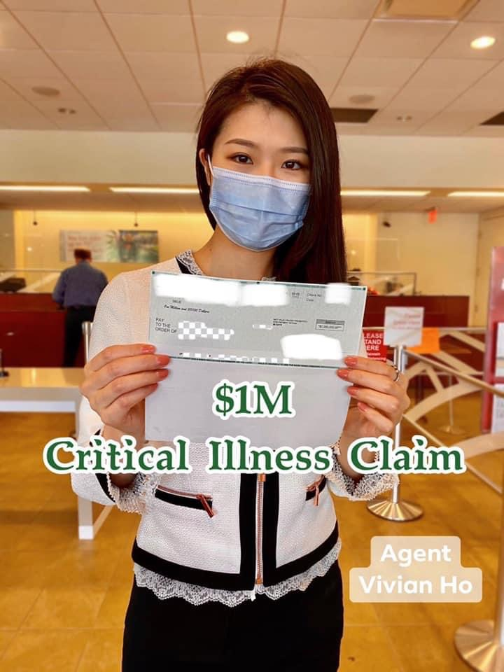 Critical Illness Claim for $1,000,000