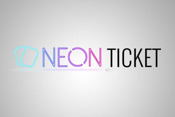 Neon Ticket Logo
