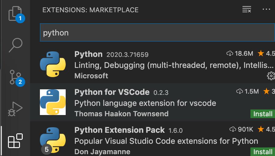VS Code Python