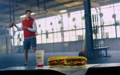 Athletes' Endorsements Bring Star Power to Goodcents' Branding