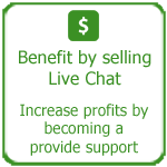 Benefit by selling live chat, Thakur International